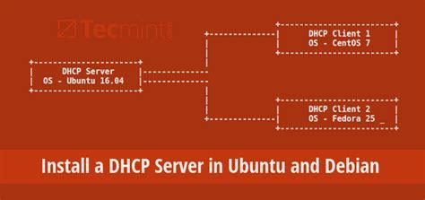 setup ubuntu server dhcp how to install a dhcp server in ubuntu and debian
