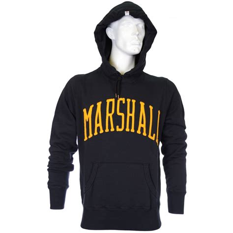 franklin marshall embroidered black hoodie franklin