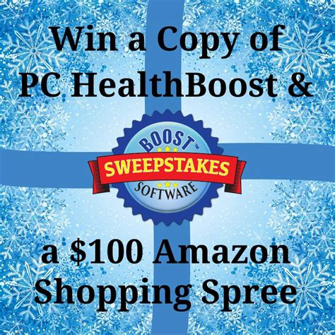 Https Truart Co Enter Amazon Sweepstakes - pc health boost holiday sweepstakes enter online sweeps