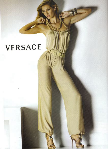 The Complete Versace 2008 Advertising Caign With Gisele Bndchen by Obsessed Hoopla Gisele S Versace Print Ad