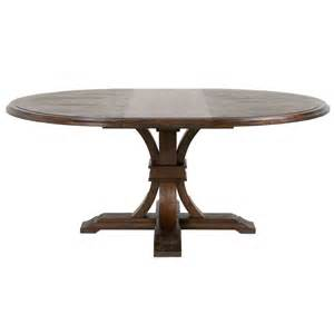 attractive Glass Extending Dining Table Sets #3: Devon-Round-Extendable-Dining-Table-rustic-java.jpg
