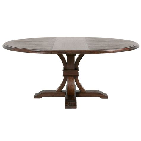 Devon Round Extendable Dining Table