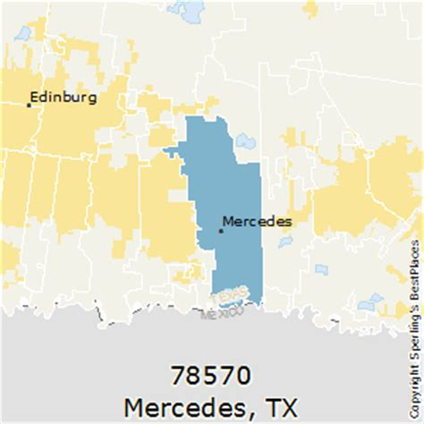 map of mercedes texas best places to live in mercedes zip 78570 texas