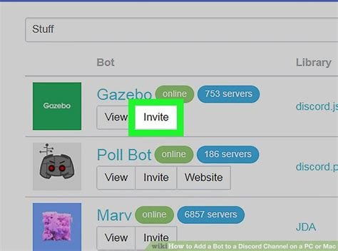 discord add bot how to add bot in discord android images how to guide