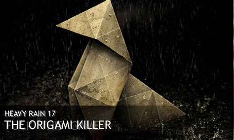 Who Is The Origami Killer In Heavy - heavy 17 the origami killer