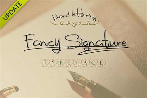 fancy signature font style befontscom
