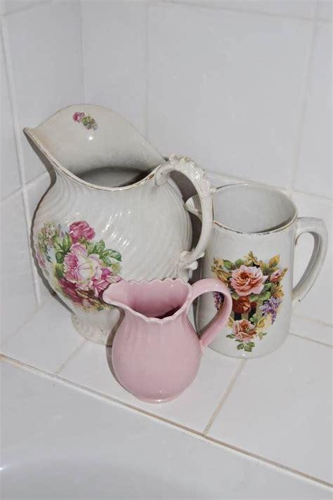 sidmouth poppy white pitcher sidmouth sugar bowl set