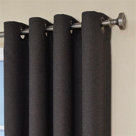 blackout grommet curtains eclipse curtains wyndham grommet blackout window curtain panel