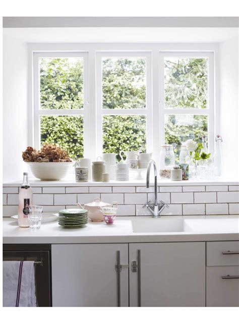 window kitchen sink home
