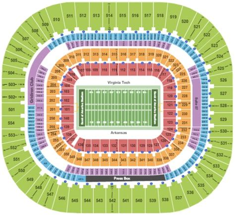 bank of america stadium seating bank of america stadium tickets in