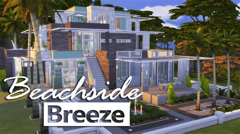 Tiny House by The Sims 4 House Building Beachside Breeze Youtube