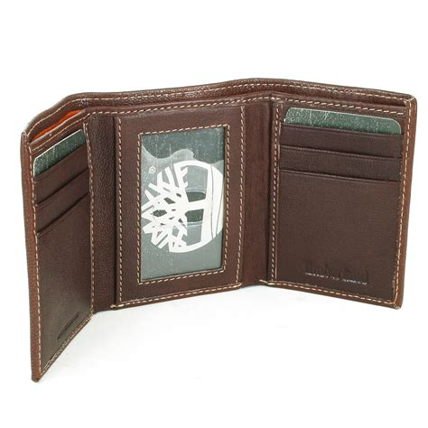 Trifold Wallet No 01 timberland s slim trifold wallet soft genuine leather