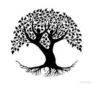 Wall Sticker Birds quot lovers tree of life silhouette quot by tarawinona redbubble