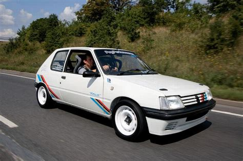 peugeot 205 rally peugeot 205 celebrates 30th anniversary