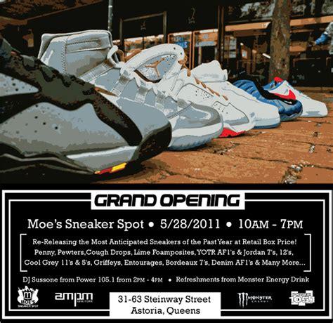moe s sneaker spot moe s sneaker spot steinway grand opening air