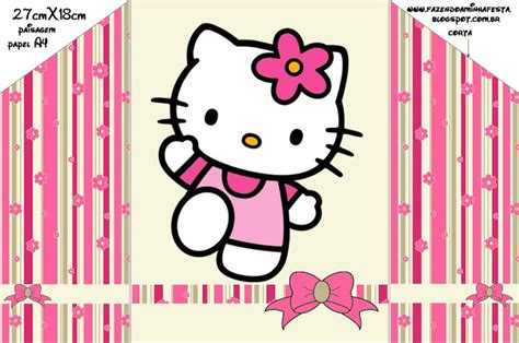 printable hello kitty envelope hello kitty with flowers free printable invitations oh