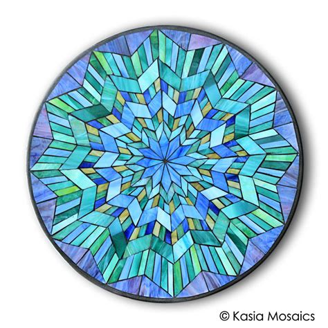 designs for mosaics templates kasia mosaics classes 187 template mandala design 4