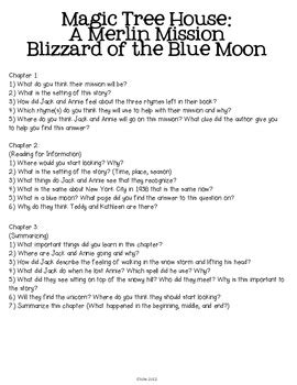 Magic Tree House: Blizzard of the Blue Moon Unit by and