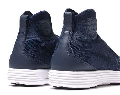 Nike Lunar Magista Flyknit Ii College Navy Sz 8 nike lunar magista ii flyknit fc college navy sneaker