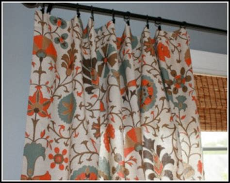 Orange And Teal Curtains Orange And Teal Curtains Items Similar To 1 Pair Teal