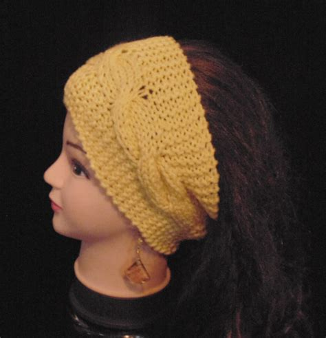 knit ear band knit band womans headband knitted headband