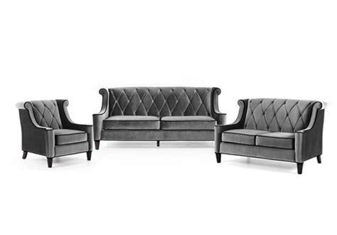 black velvet sofa set armen living barrister gray velvet black wingback sofa set