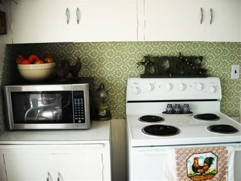 removable kitchen backsplash diy removable fabric backsplash for rental kitchens home