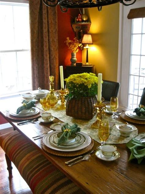 dining room tablescapes tablescapes
