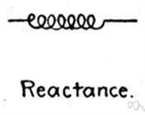 capacitive reactance observation reactance electronics
