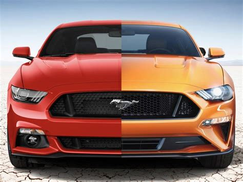 2017 mustang vs 2018 mustang 2018 ford mustang vs 2017 mustang a side by side comparison