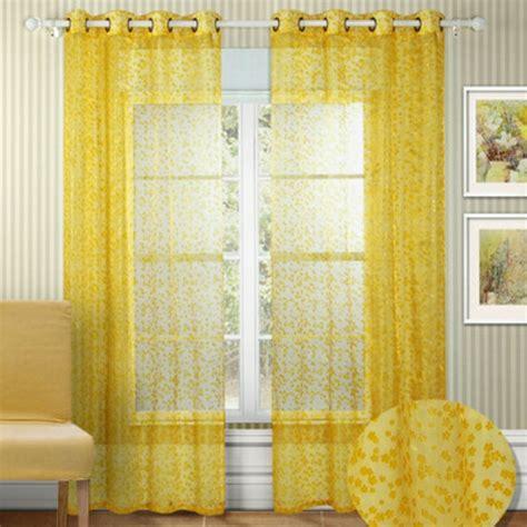 gardinen deko 187 gardinen gelb transparent gardinen - Gardinen Gelb