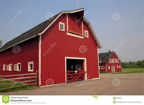 red barn plans red barn stock image image 868661
