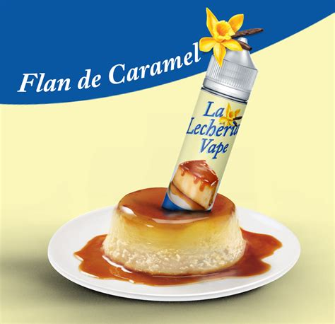 La Kokoa Eliquid 3mg 60ml e liquide la lecher 236 a vape flan de caramel 60ml la