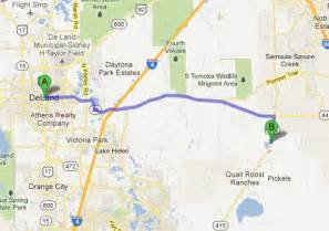 deland florida map directions from deland fl 4 jays volusia county landfill