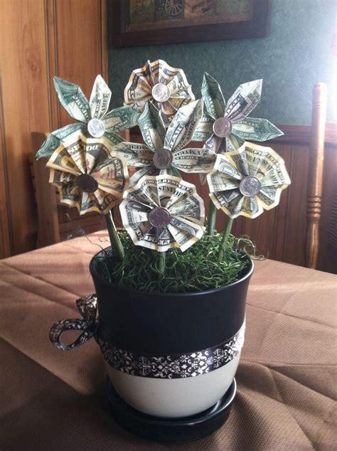 Owers Made Of Money Origami Moneyower  Ee  Gift Ee   Wedding