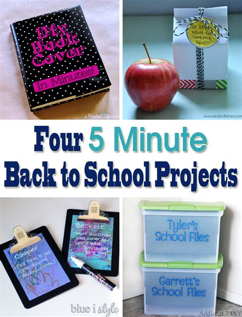 diy school projects 5 minute friday back to school organizing addicted 2 diy