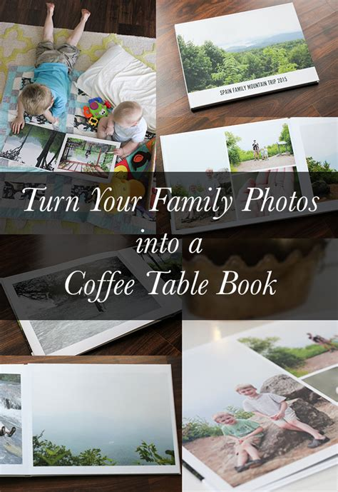 a coffee table book of your own photos family photo coffee table book snapfish premium photo