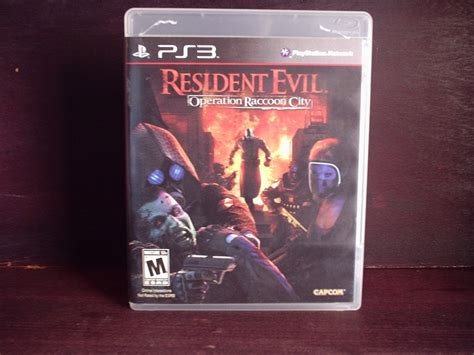 Ps3 Resident Evil Operation Racoon City juego ps3 resident evil operation raccoon city completo