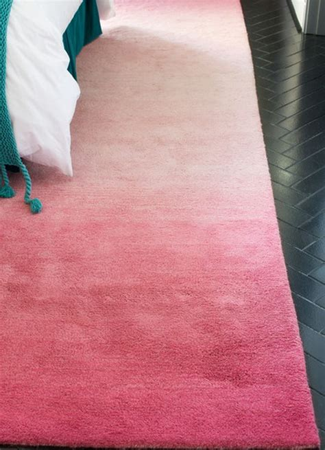 pink ombre rug use the ombre technique to create stunning and colorful designs for your home