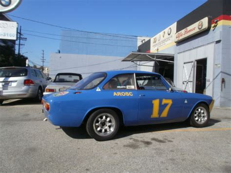 alfa romeo race car for sale 1965 alfa romeo sprint gt gtv race car for sale alfa