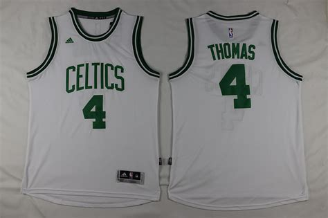Jersey Basket Swingman Isaiah Boston Celtics cheap adidas nba boston celtics 4 isaiah new revolution 30 swingman white jersey for sale