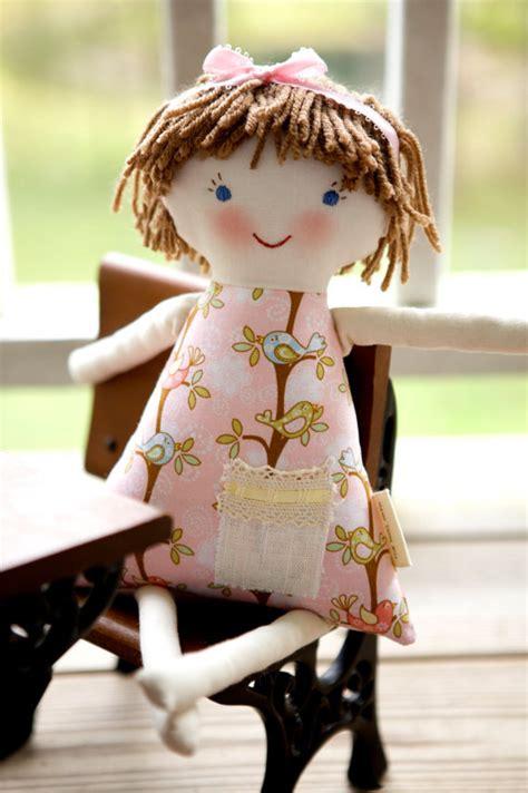 rag doll hair newborn cloth doll hair rag doll waldorf handmade