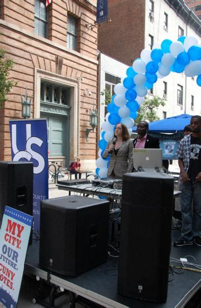 Baruch Mba Accounting Tuition by Baruch College Hosts Get Out The Vote Rally Cuny Newswire
