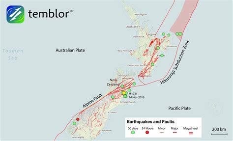 earthquake fault the most complex fault rupture ever temblor net