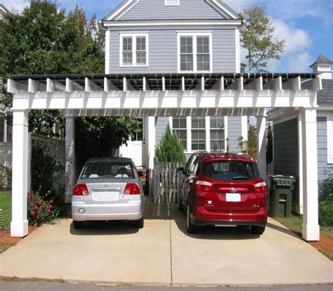 Parking Garage Arbor by Best 25 Pergola Carport Ideas On