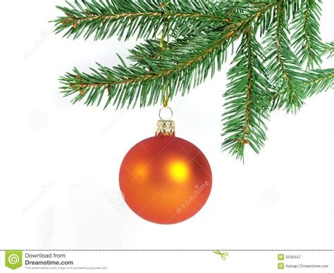 orange christmas ball royalty free stock photography