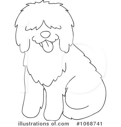 sheep dog coloring page sheepdog clipart 1068741 illustration by rosie piter