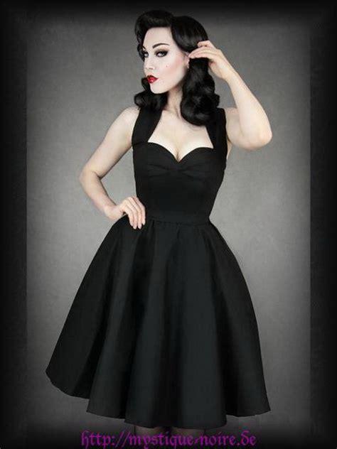Dress Azum 50er jahre kleid zum petticoat schwarz