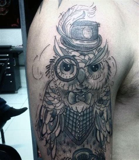 simple owl tattoo design owl tattoos designs pictures page 14