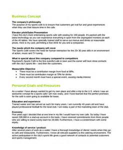 Pub Business Plan Template pub business plan template plan template